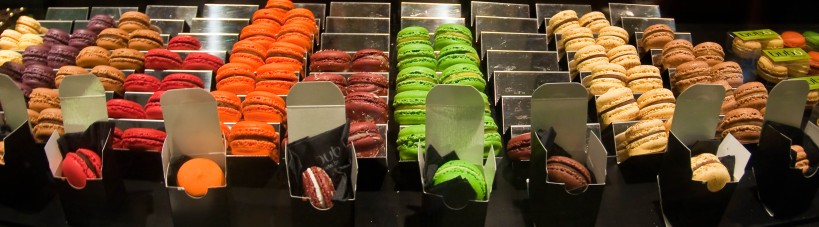 The spectrum of macarons at Bubo