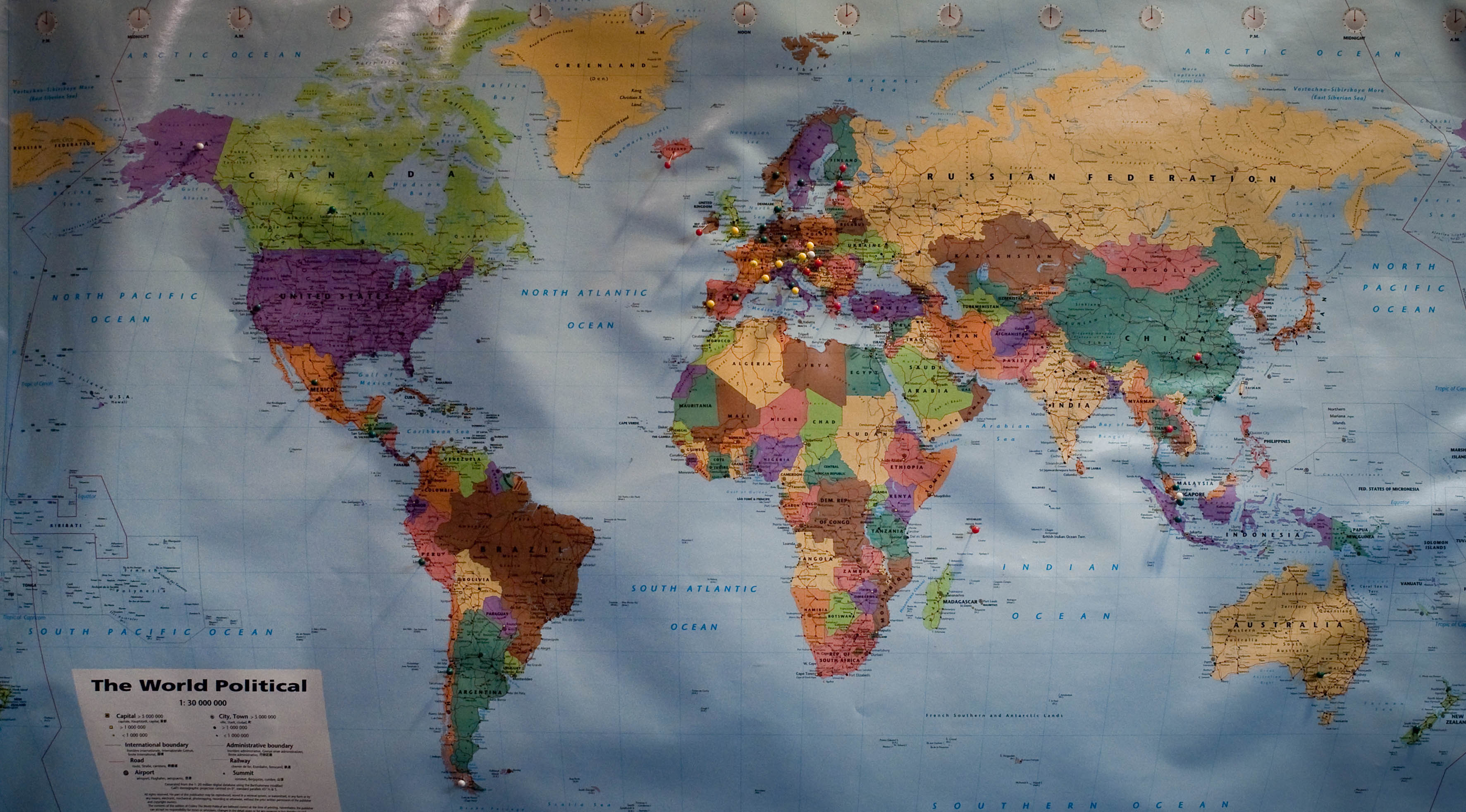 Maps Update 750519 World Travel Map With Pins Online Pushpin World Travel