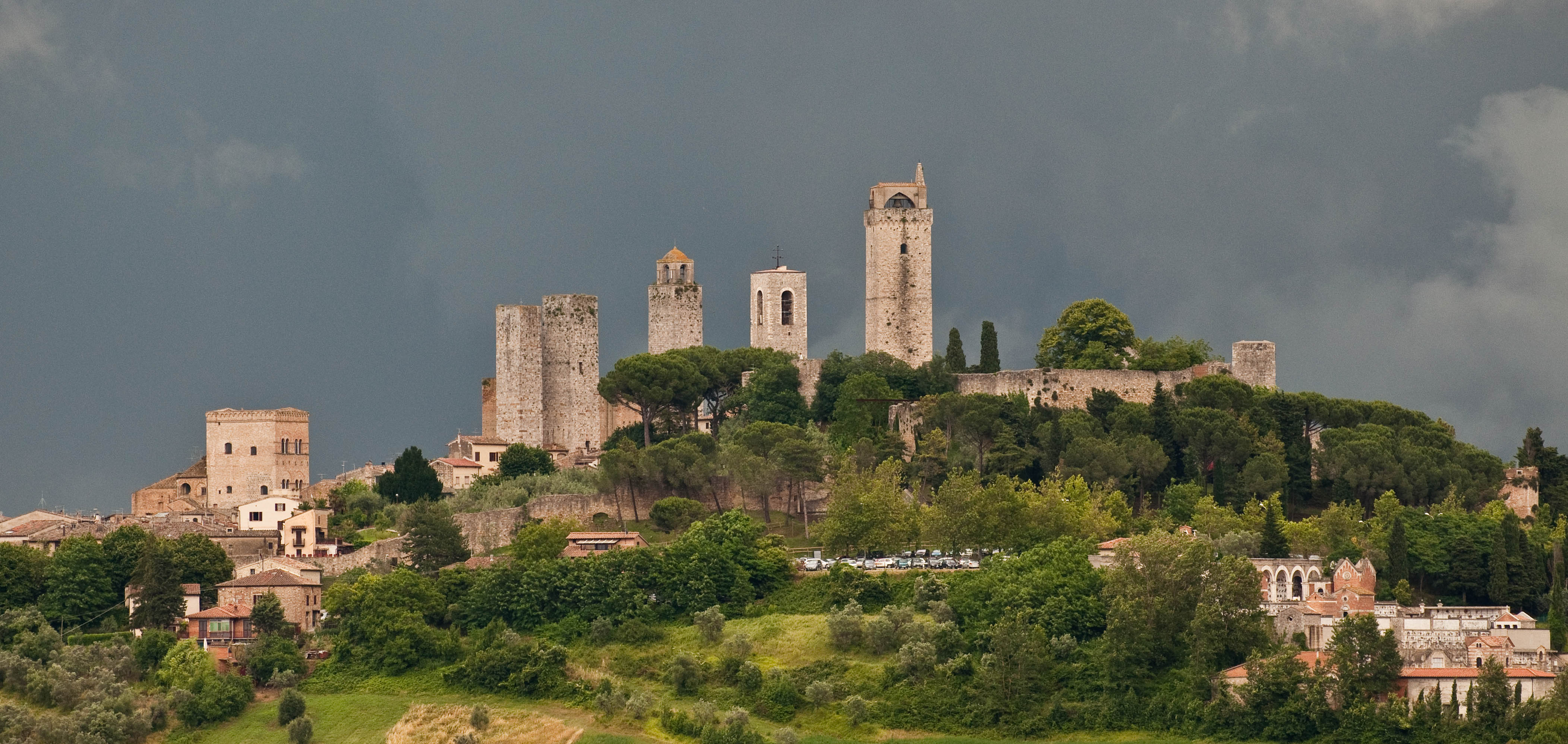 Italy san gimignano another header for Be italia