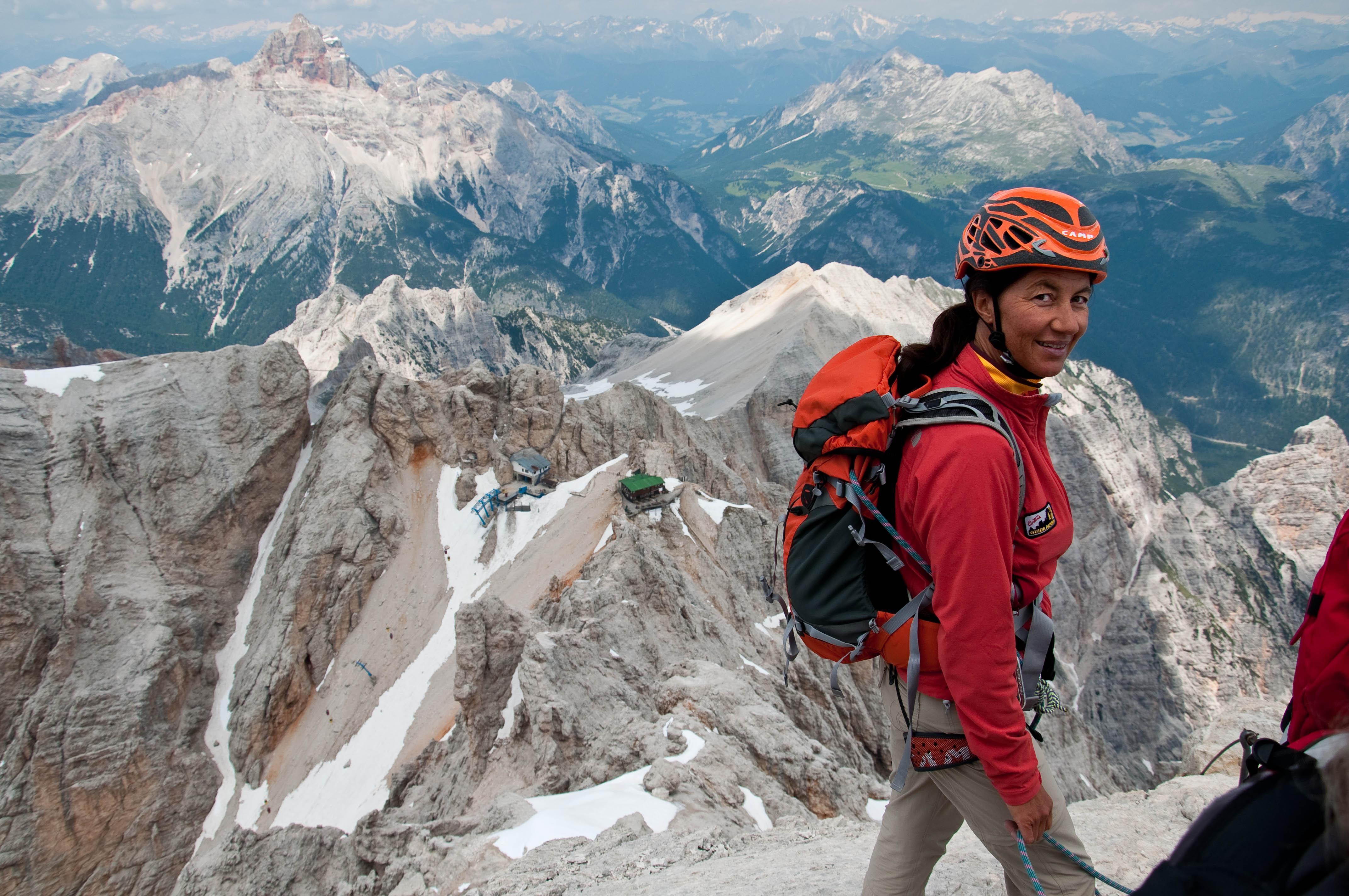 Italy Cortina D Ampezzo And Via Ferrata Marino Bianchi