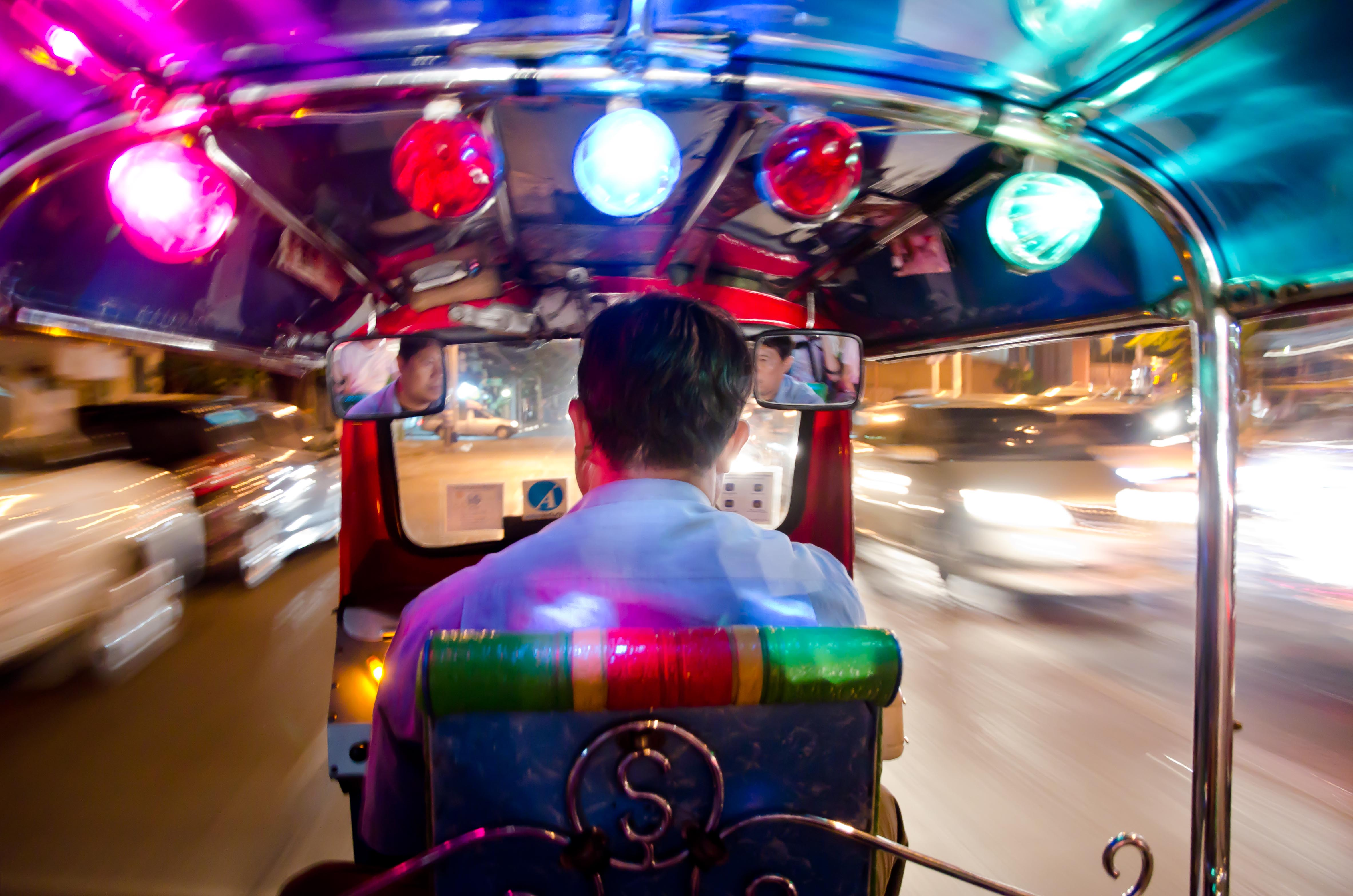 bangkok tuk tuk thrill rides another header. Black Bedroom Furniture Sets. Home Design Ideas