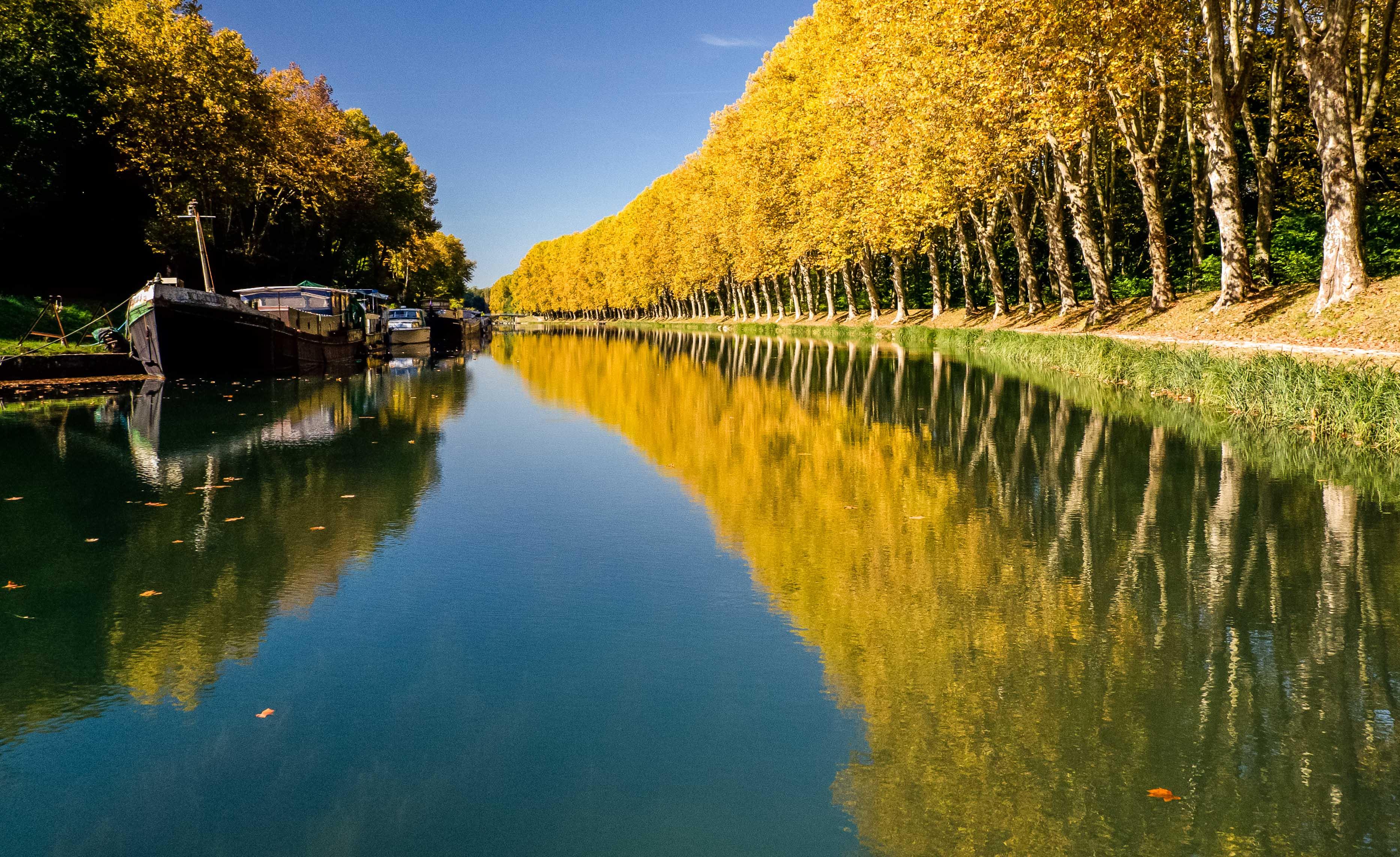 Canal des deux mers meilhan sur garonne to castets en for Piscine de portet sur garonne
