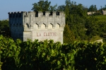 "Chateau La Clotte:  As near as we could tell a ""clotte"" is a cave dwelling."