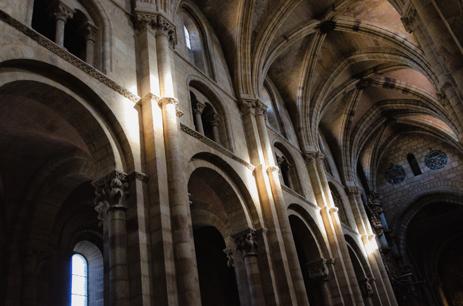 Inside the Basilica San Vicente