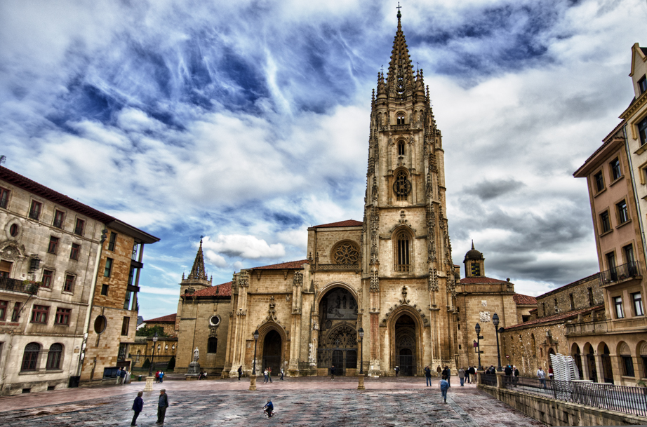 Cathedral of San Salvadora in Oviedo