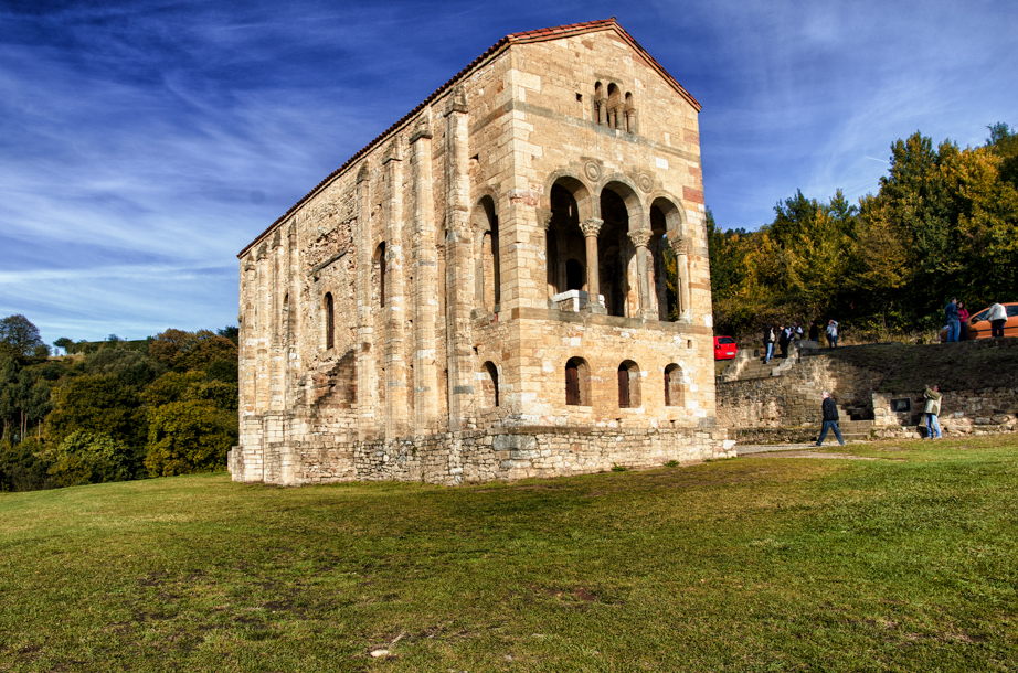 The church of St Mary at Mount Naranco