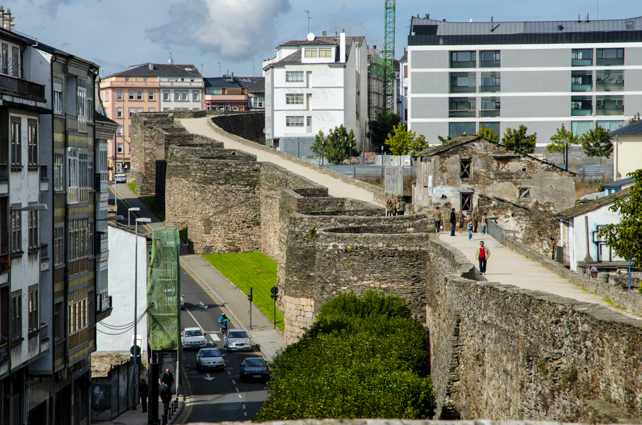 The Roman Walls of Lugo