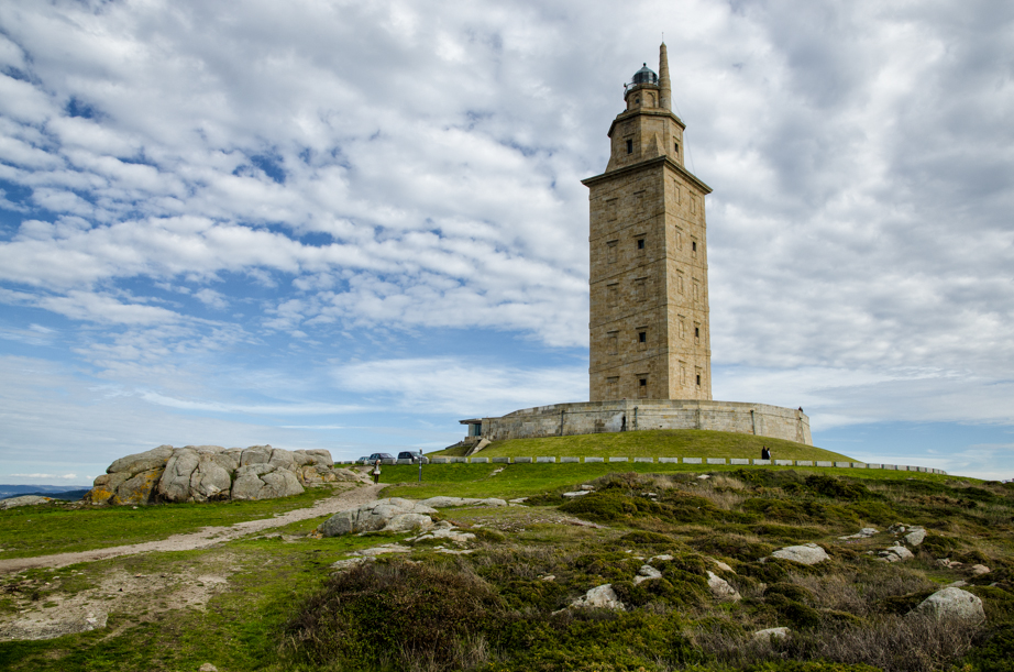 Tower of Hercules in A Coruña Spain