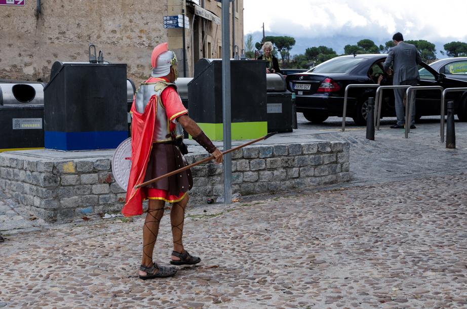 The Roman occupation of Segovia continues today