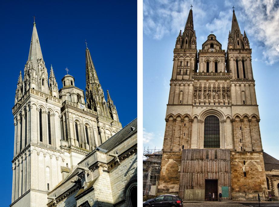 Cathédrale Saint-Maurice d'Angers, Angers main church