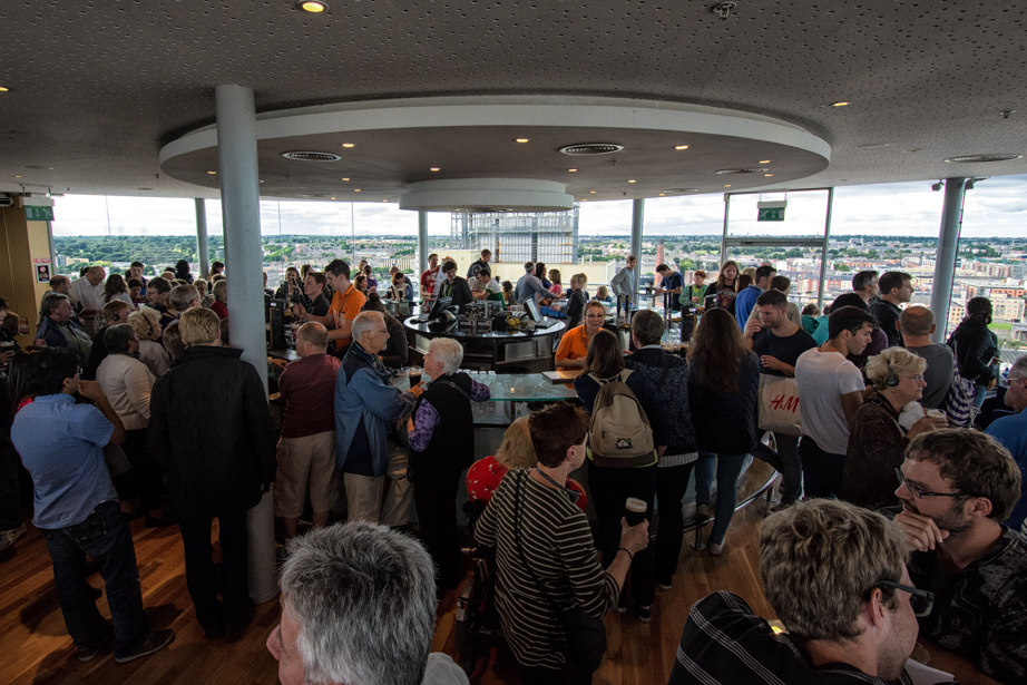 The Gravity Bar at the Guinness Storehouse