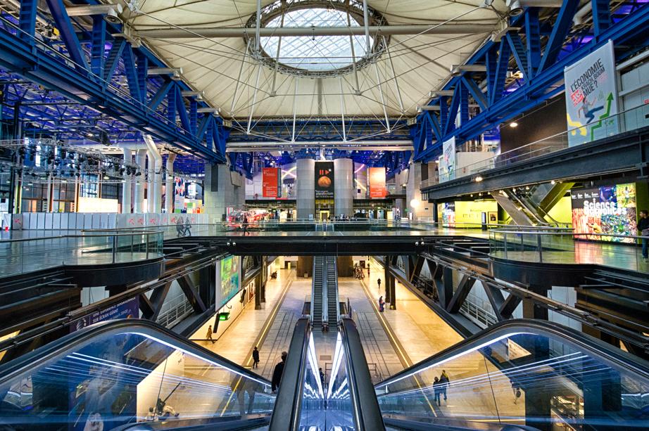 Inside Cité des Sciences et de l'Industrie