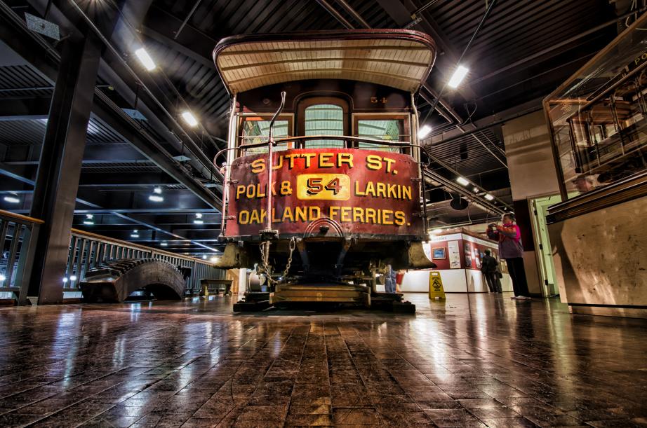 Inside San Francisco's Cable Car Museum