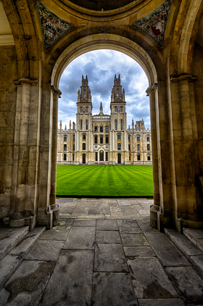 All Souls College, Oxford England