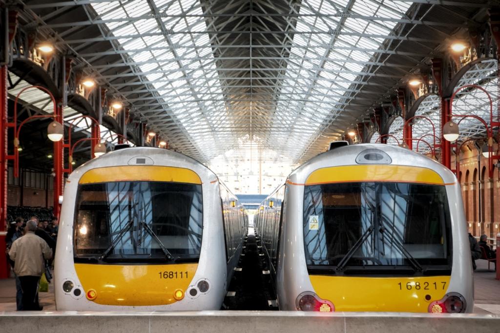 Inside Marylebone Station