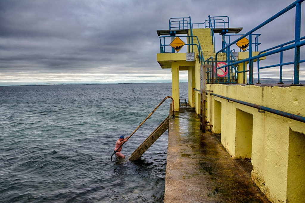 Swimming in Galway