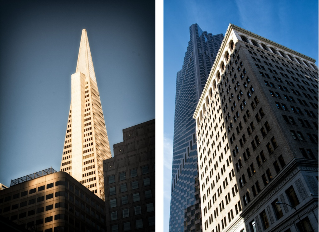 The old and the new in San Francisco's Financial District