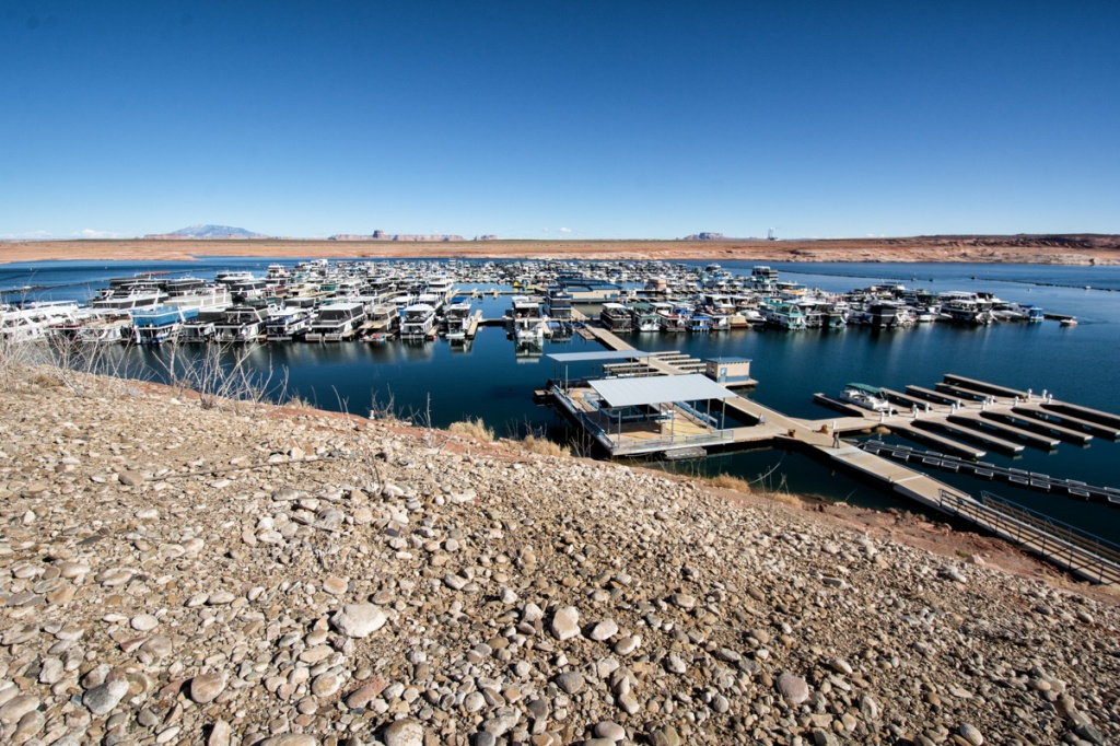 Antelope Point Marina near Page Arizona