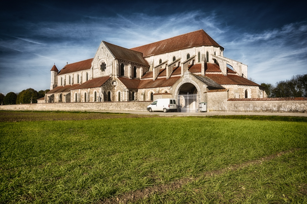 The Cistercian Abbey in Pontigny