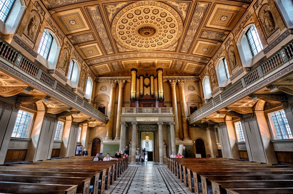 The Chapel at Old Royal Naval College Greenwich