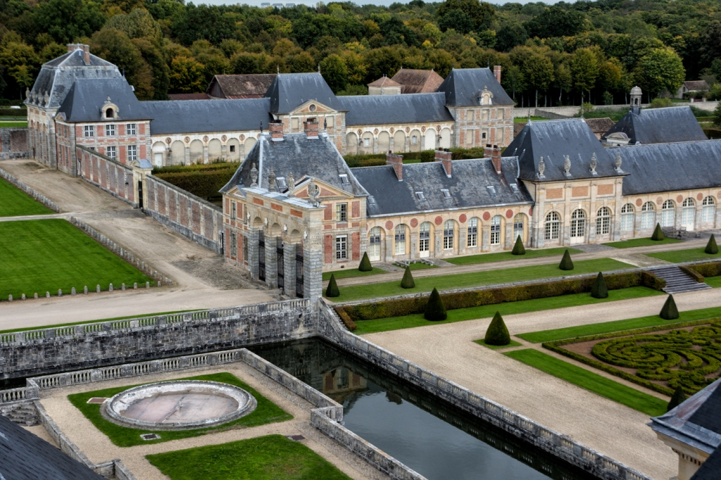 Even the out buildings at Vaux-de-Vicomte are impressive.