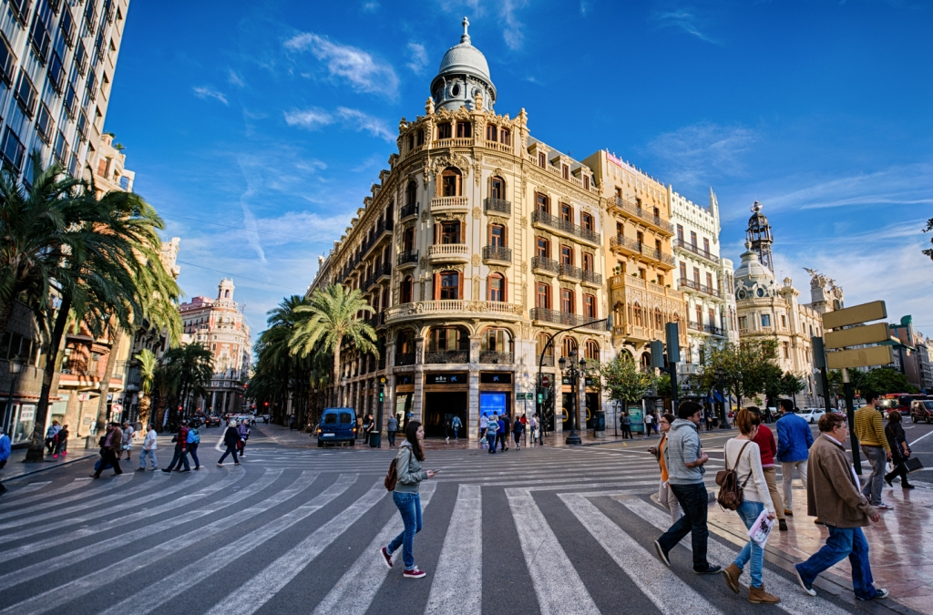 Walk this way: Valencia is an interesting place to explore by foot.