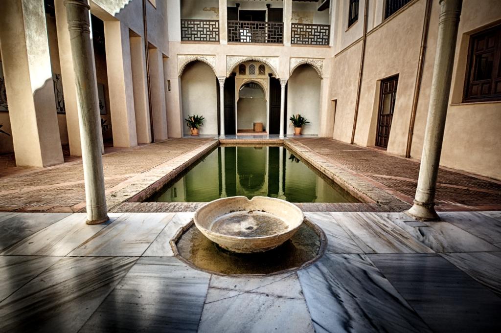 Inside a house in Granada's Albayzín