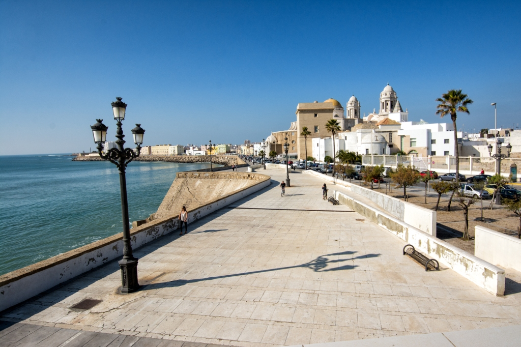 A postcard of Cadiz, a brief stop on our way from Ronda to Seville.