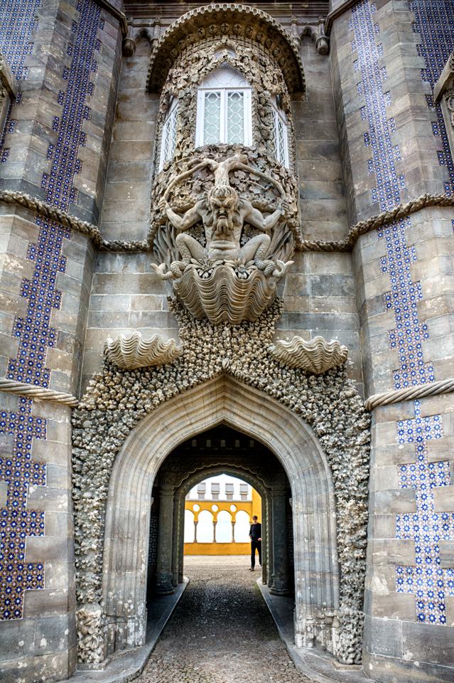 Details above a passageway