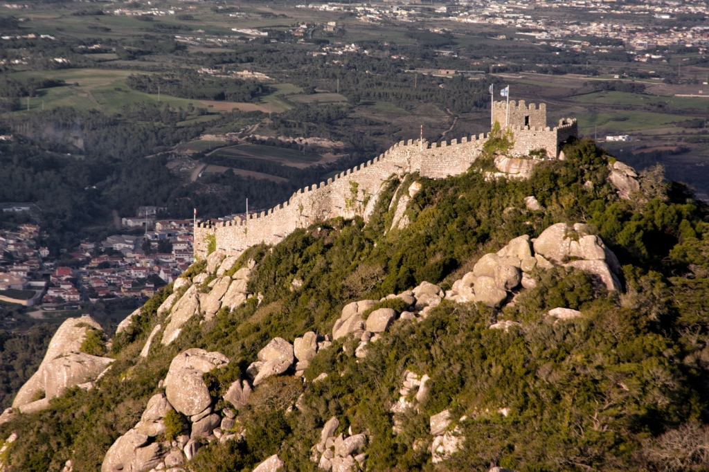 The Castle of the Moors viewed from Pena National Palace.