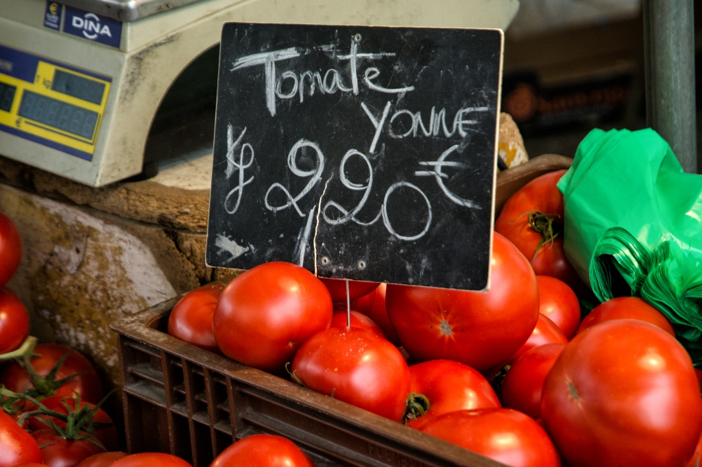 Tomatoes from the Yonne River valley