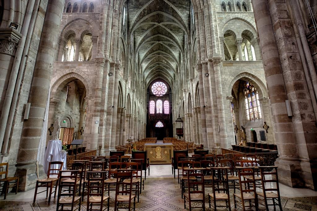 Inside Notre-Dame-en-Vaux
