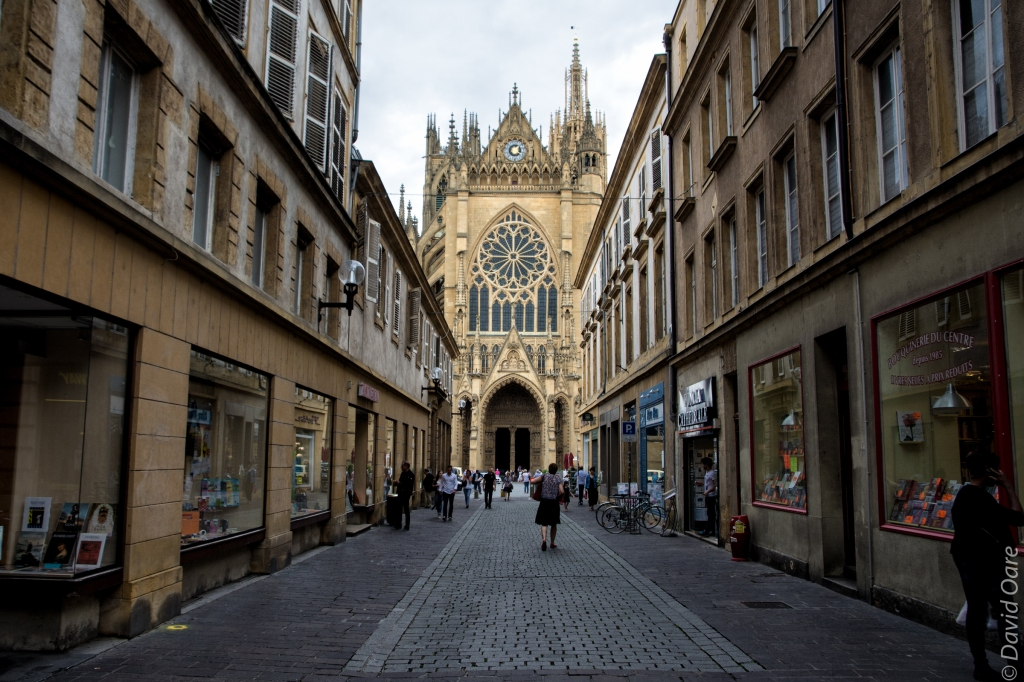 The cathedral in Metz